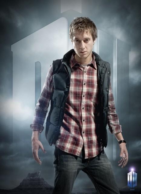 Arthur Darvill in un'immagine promozionale della stagione 6 di Doctor Who