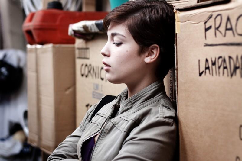 Carla Marchese in una scena del film I baci mai dati (2010)