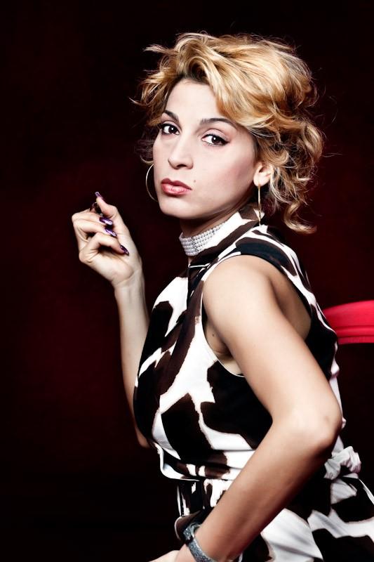 Donatella Finocchiaro in una immagine promo del film I baci mai dati