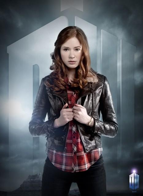 Karen Gillan in un'immagine promozionale della stagione 6 di Doctor Who