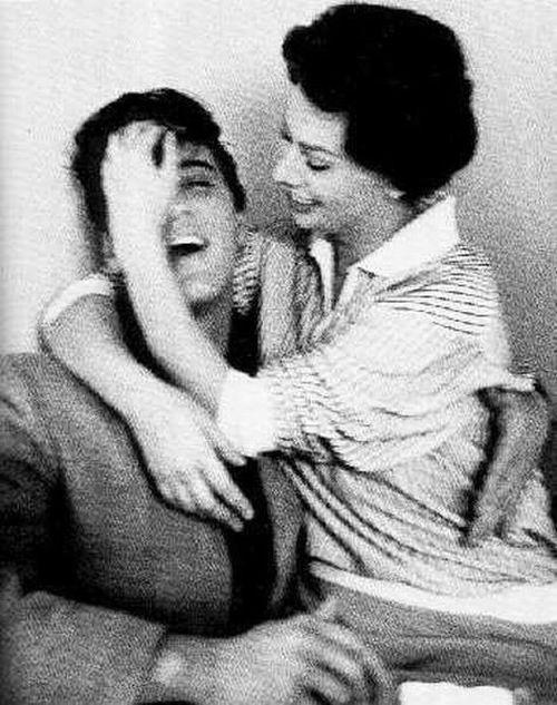 Sophia Loren ed Elvis Presley