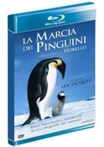 La copertina di La marcia dei pinguini (blu-ray)