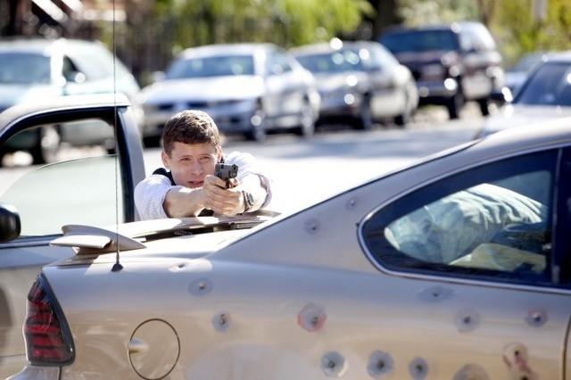 Matt Lauria nell'episodio Gillis, Chase & Babyface di The Chicago Code