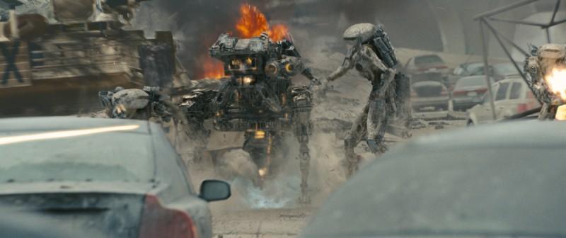 Una scena del film World Invasion, del 2011