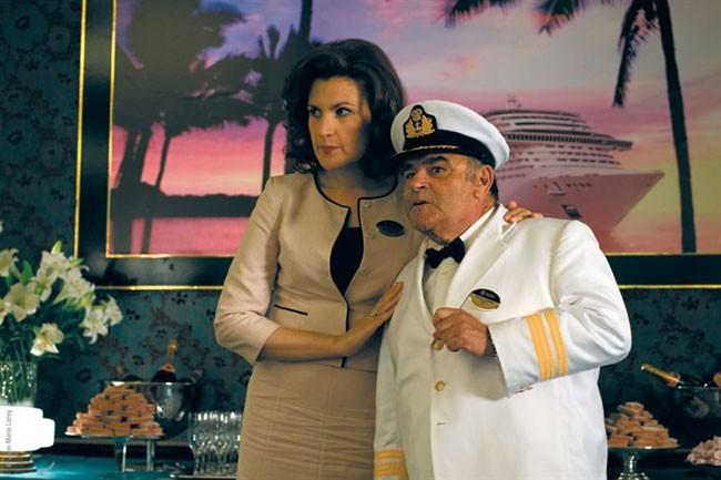 Armelle Lesniak e Jean Benguigui nella commedia La croisiere