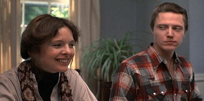 Christopher Walken accanto a Diane Keaton in Io e Annie (1977)