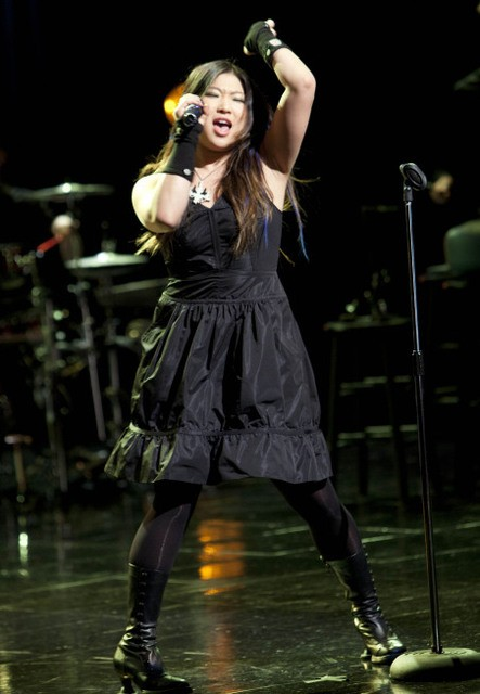 Jenna Ushkowitz nell'episodio A Night of Neglect di Glee