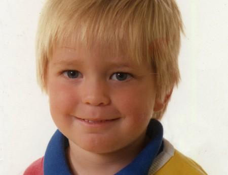 Robert Pattinson a sei anni