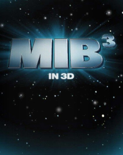 Teaser poster di Men in Black 3