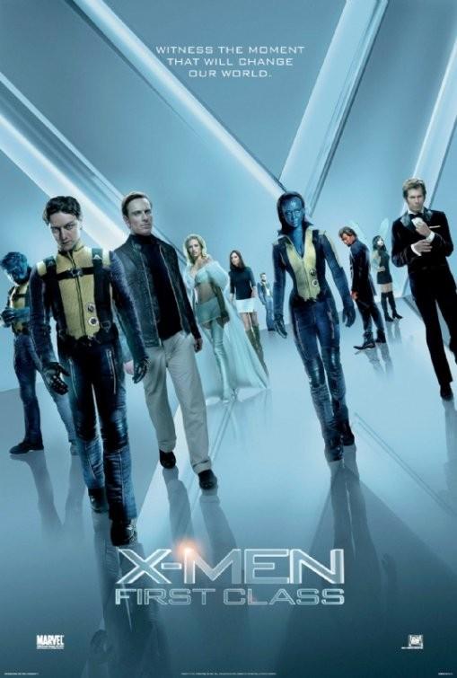 Teaser Poster di X-Men: First Class