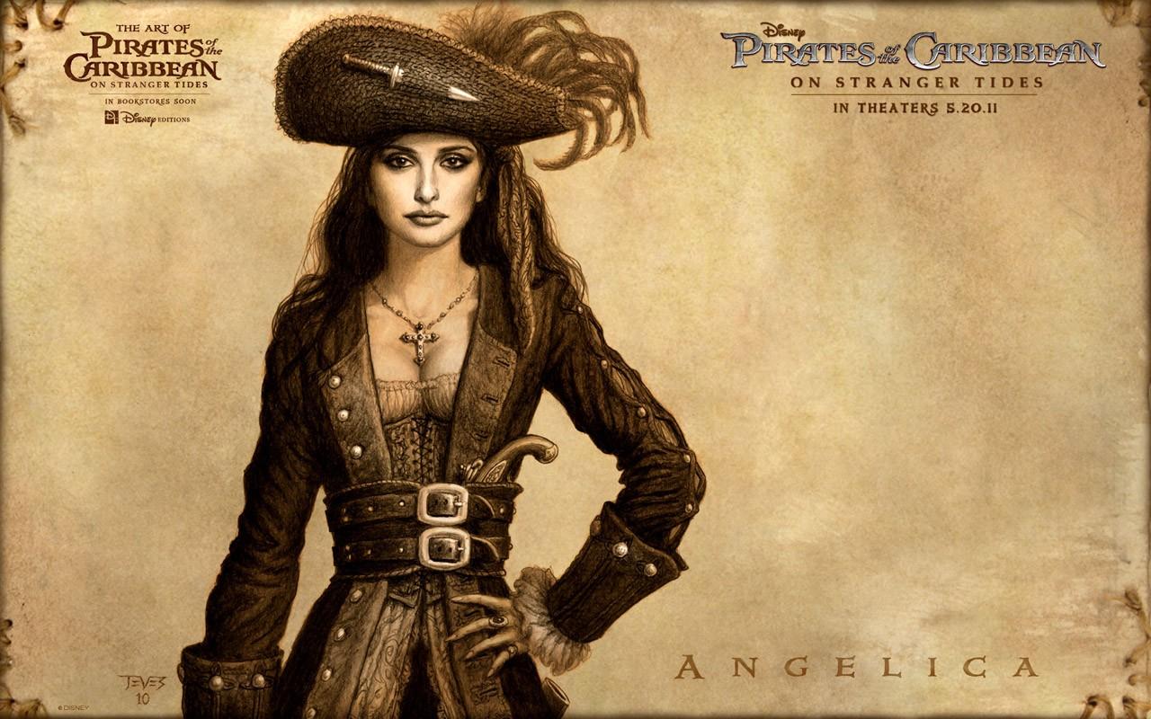 Un wallpaper per i Pirati dei Caraibi: Oltre i confini del mare - Penelope Cruz