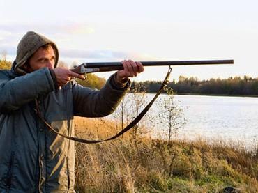 Bakur Bakuradze sul set del suo film, The Hunter