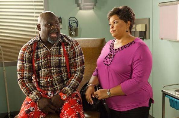Brown (David Mann) e Cora (Tamela Mann) nel film Madea's Big Happy Family