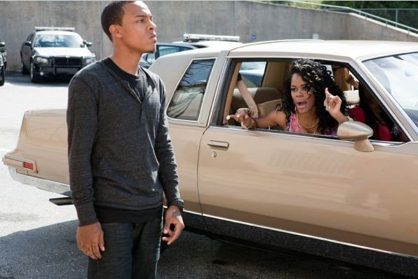 Byron (Bow Wow) e Sabrina (Teyana Taylor) nel film Madea's Big Happy Family
