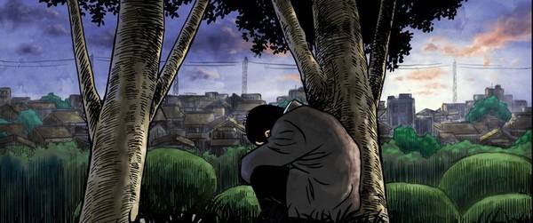 Il protagonista del film d'animazione Tatsumi