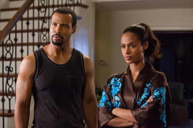 Isaiah Mustafa e Shannon Kane nel film Madea's Big Happy Family