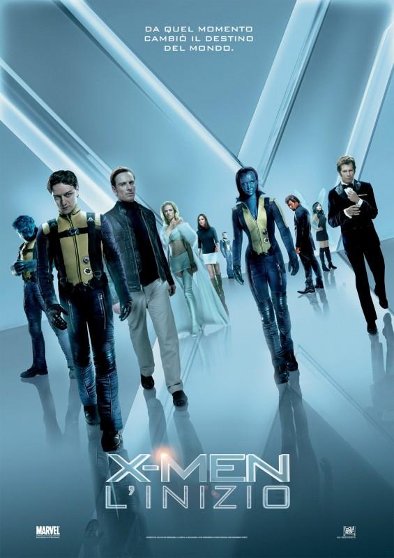 Locandina italiana di X-Men: l'inizio