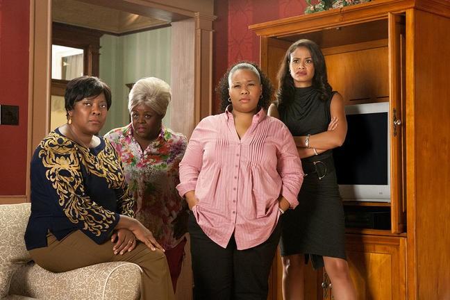 Loretta Devine, Cassi Davis, Natalie Desselle e Shannon Kane nel film Madea's Big Happy Family