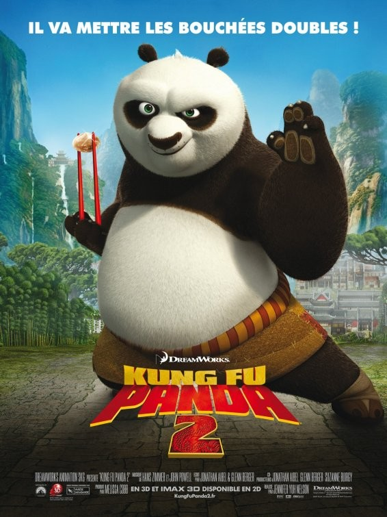 Poster francese per Kung Fu Panda 2
