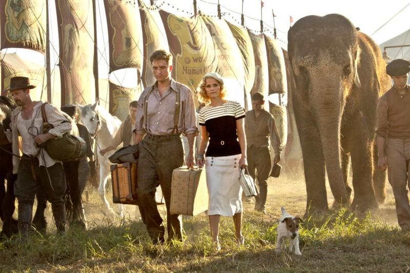 Robert Pattinson e Reese Witherspoon sono Jacob e Marlena nel film Come l'acqua per gli elefanti, del 2011