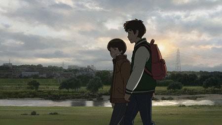 Una scena dell'anime di Keiichi Hara Colorful