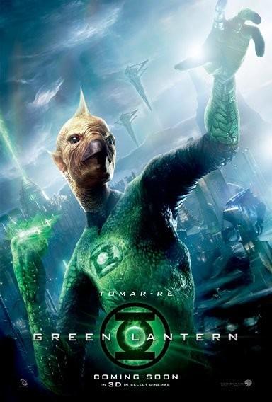Character Poster per Green Lantern (Lanterna verde) - Tomar-Re
