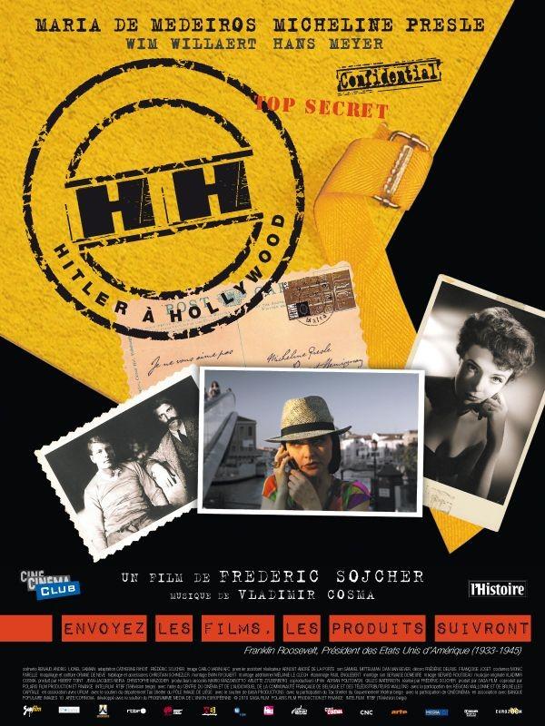 La locandina di HH, Hitler à Hollywood