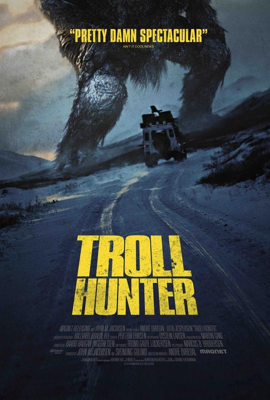 La locandina di Trollhunter
