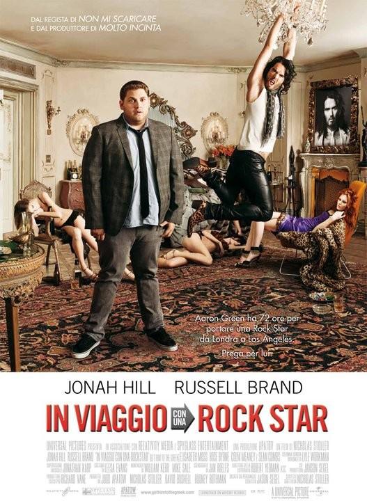 La locandina italiana di In viaggio con una rock star