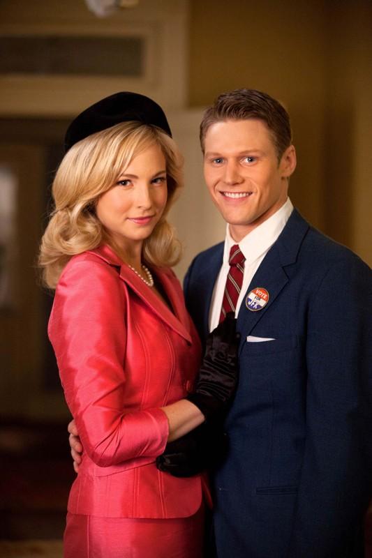 Candice Accola e Zach Roerig in una foto promo dell'episodio The Last Dance di Vampire Diaries