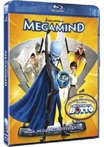 La copertina di Megamind (blu-ray)