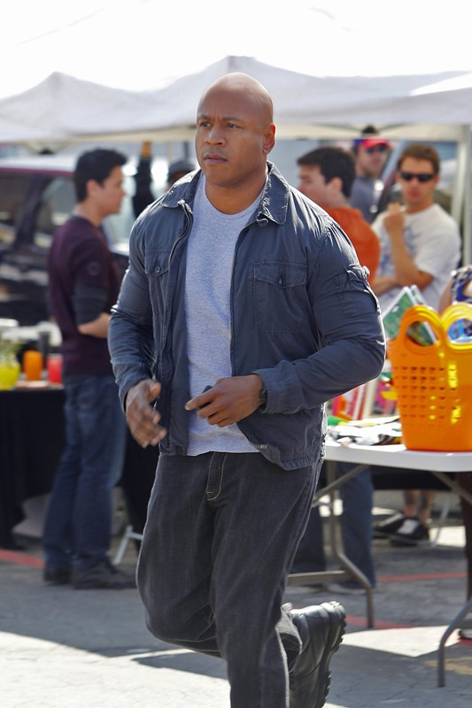 LL Cool J in una scena dell'episodio Rocket Man di NCIS: Los Angeles