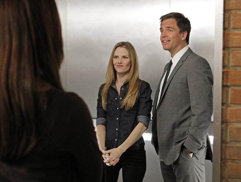 Sarah Jane Morris e Michael Weatherly nell'episodio Two Faced di NCIS