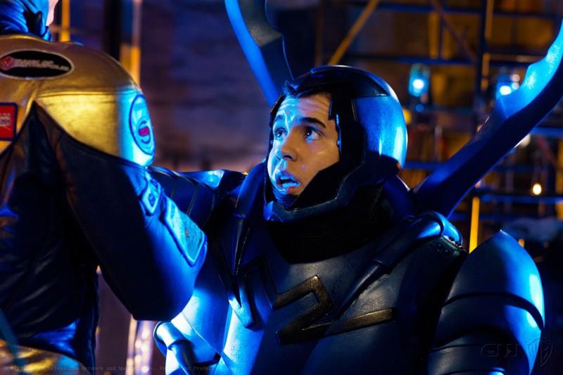Blue Beetle (Jaden Brandt Bartlett) nell'episodio Booster di Smallville