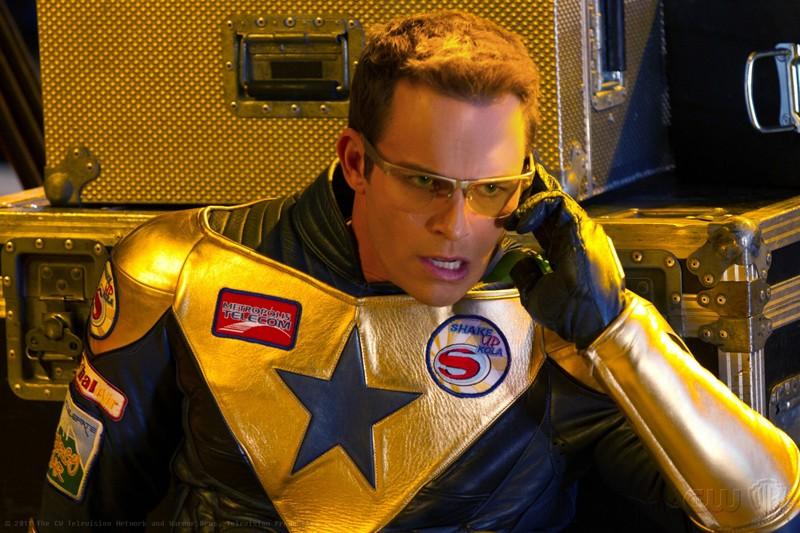 Booster Gold interpretato da Eric Martsolf nell'episodio Booster di Smallville