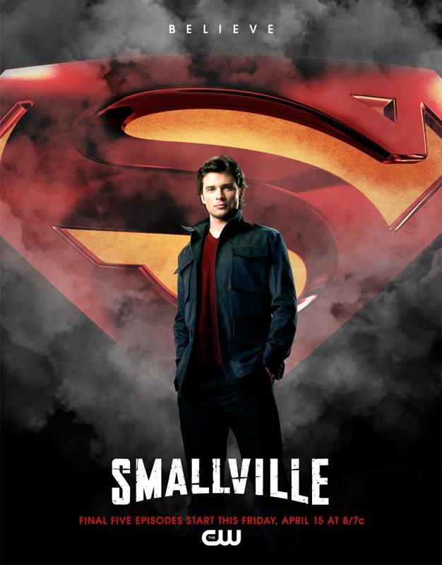 Il poster ufficiale per gli ultimi 5 episodi della stagione 10 di Smallville