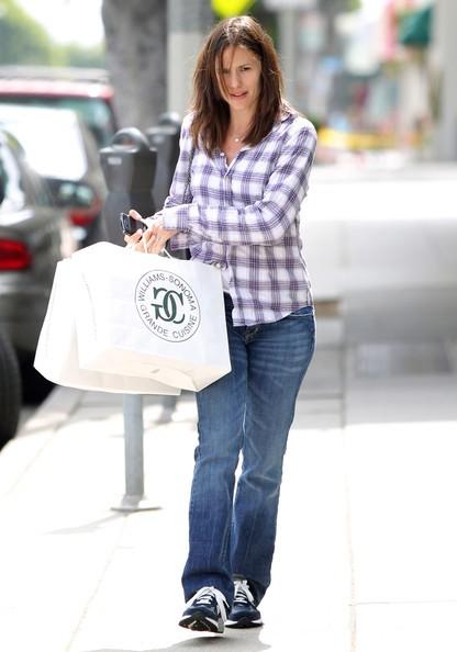 Jennifer Garner dopo qualche spesa da Williams Sonoma in Santa Monica