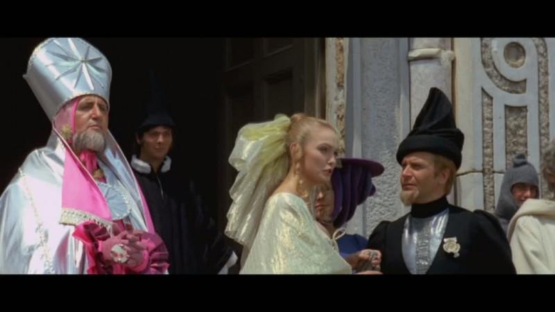 Carotenuto e Noschese nella commedia Il prode Anselmo e il suo scudiero