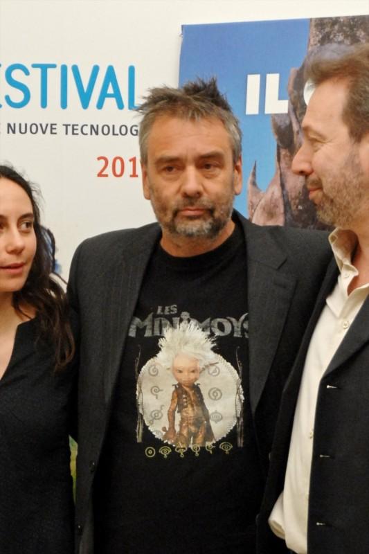 FFF 2011: Luc Besson presenta Arthur 3 - La guerra dei due mondi accanto ai due direttori del Festival