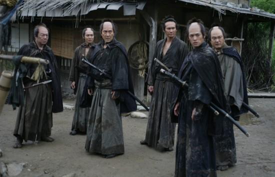 Gruppo di samurai nel film 13 Assassini