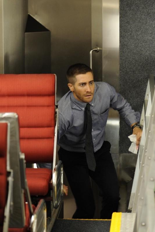 Jake Gyllenhaal è il protagonista del thriller The Source Code