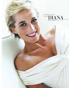 La locandina di Concert for Diana