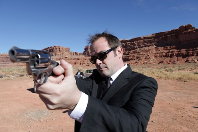 Mark Sheppard nell'episodio Day Of The Moon di Doctor Who