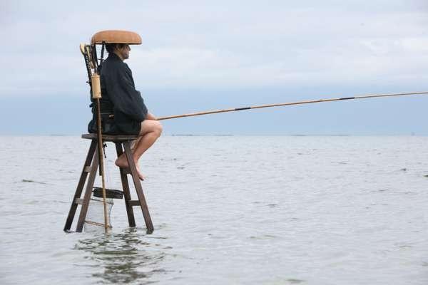 Samurai a pesca nel film 13 Assassini