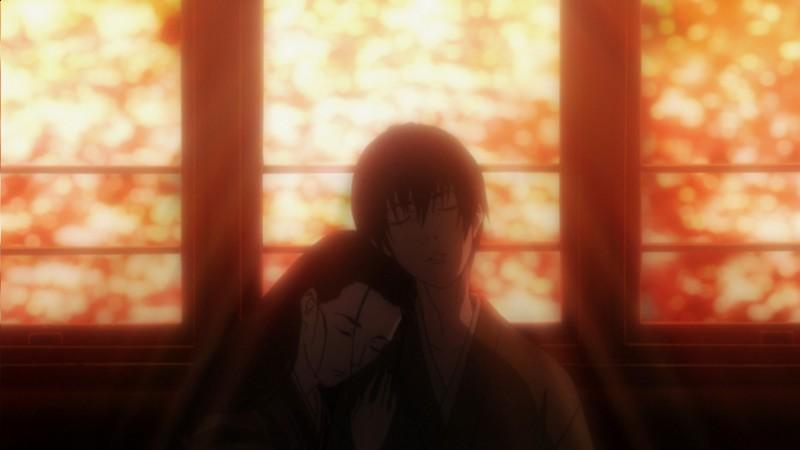 Un'immagine dall'anime No Longer Human