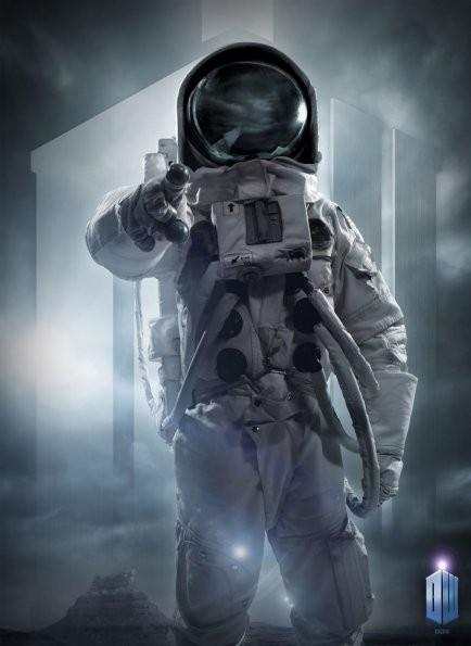 Un'immagine promozionale dell'episodio The Impossible Astronaut di Doctor Who