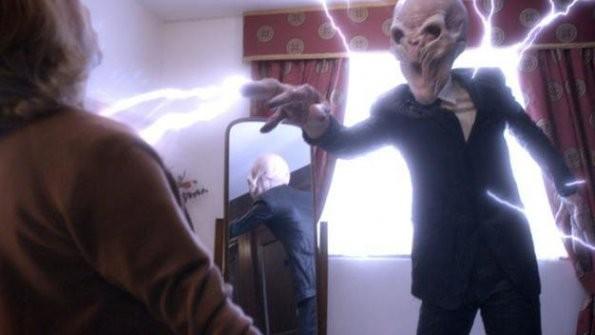 Un momento dell'episodio The Impossible Astronaut di Doctor Who