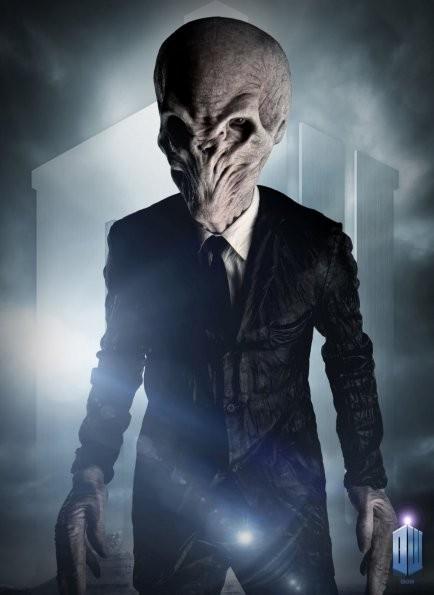 Una foto promozionale dell'episodio The Impossible Astronaut di Doctor Who