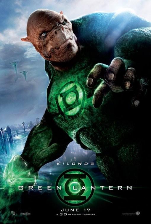Character Poster per Green Lantern (Lanterna verde) - Kilowog