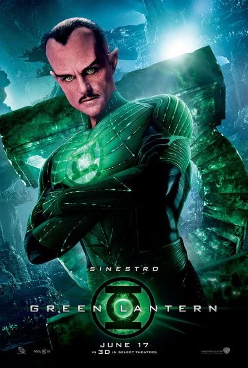 Character Poster per Green Lantern (Lanterna verde) - Sinestro